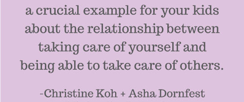 On Self-Care (One of the Many Awesome Benefits)